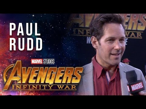 Paul Rudd Live at the Avengers: Infinity War Premiere
