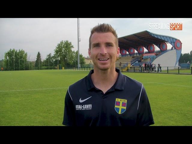 Simone Bertagno dopo 20 anni lascia il calcio Sabato 12 giugno 2021