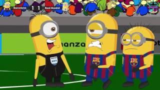 Download Video minion  barcelona vs real madrid lucu 2016 bikin ngakak full hd MP3 3GP MP4