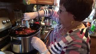 Let's Cook- Beef Stew in Kitchenaid Slow Cooker