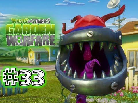 Plants Vs. Zombies - GARDEN WARFARE - PART 33 - POWER CHOMPER! (HD ...