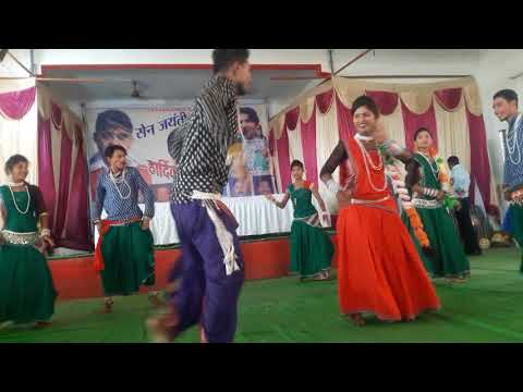 Abhimanyu Mandavi(mat gehe mahuaa ) dance Pariwar Ghotia