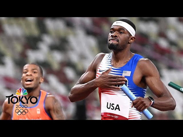 USA leaves Tokyo with Olympic GOLD in men's 4x400m relay (With Replays) | NBC Sports