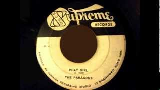 play girl the paragons supreme sp 4 fc 6684 1966