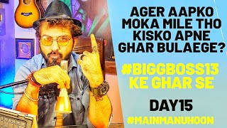 BiggBoss13 #BBreview #BB13 Daily Dose Day #15 With Manu Punjabi