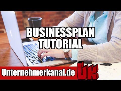 Businessplan erstellen für Unternehmer in 12 Min - Businessplan schreiben einfach erklärt! (Deutsch)