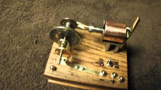 Simple Miniature Solenoid Engine