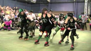 roller derby: Boone Shiners @ Bad News Bs