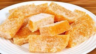 Doce De Abacaxi Cristalizado – Fácil e Gostoso