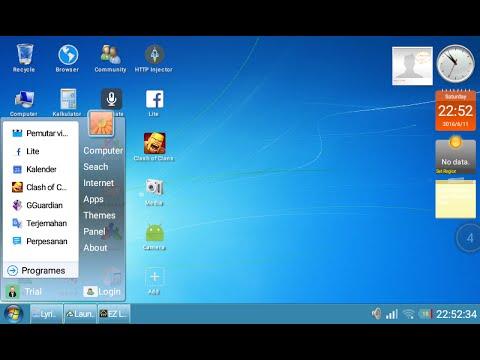 Cara Merubah Android Jadi Windows 7