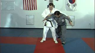 Hapkido Behind Double Elbow Grab Techniques 1 thru 6