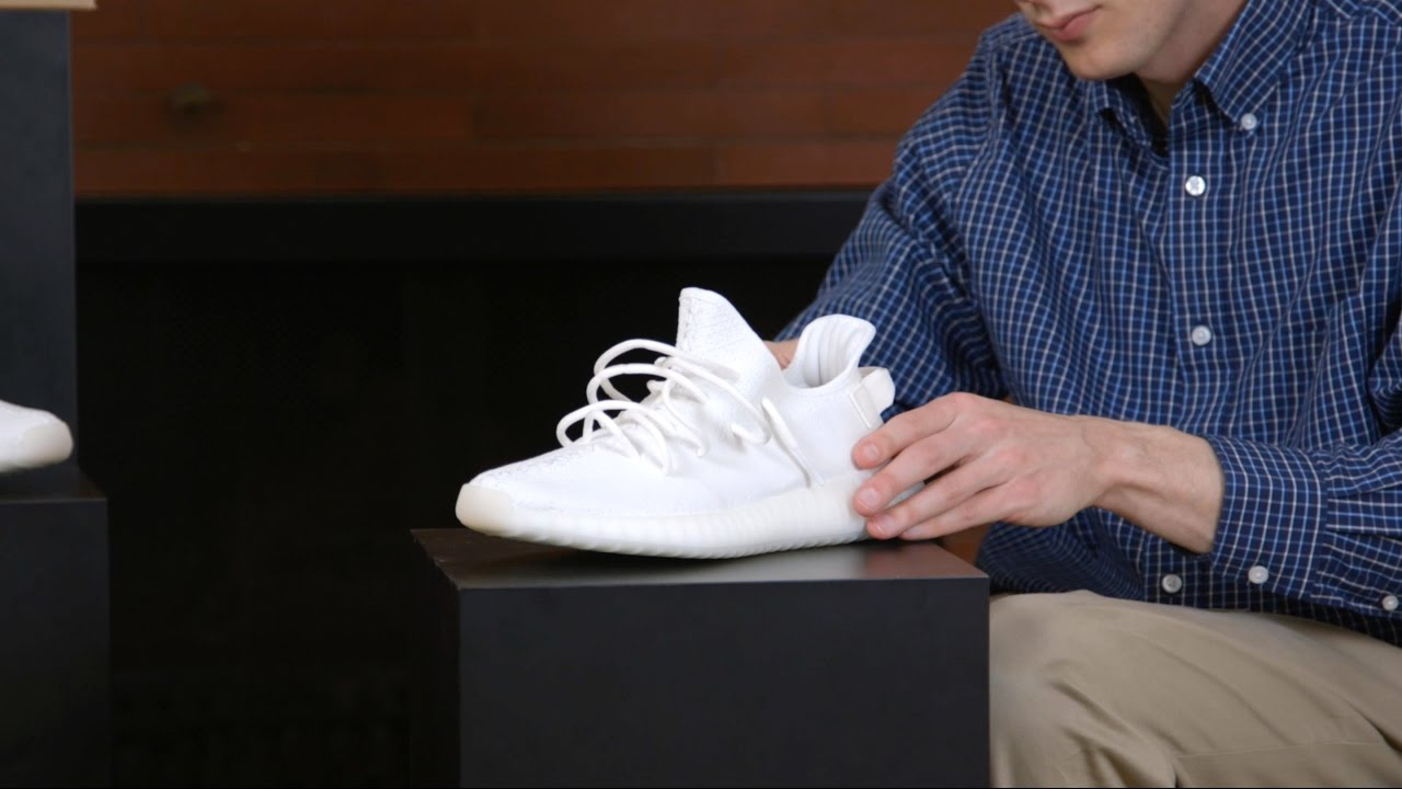70deb945b0d How To Lace the Yeezy 350 Like Kanye - YouTube