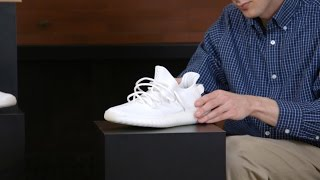How To Lace the Yeezy 350 Like Kanye