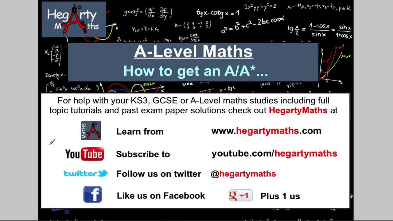 A-Level Maths Revision - StudyWise