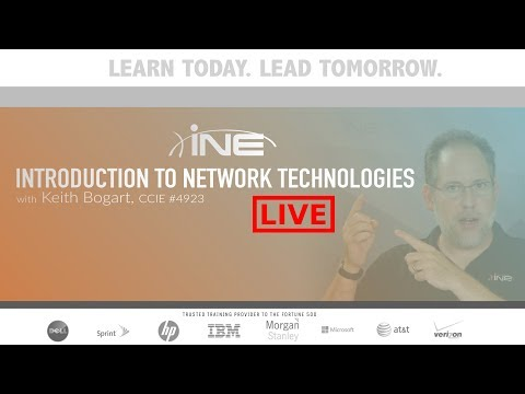 Introduction to Networking Technologies Webinar - May 2018