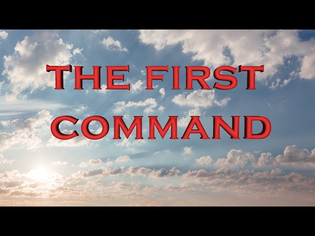 The first and only command (Eng subs)
