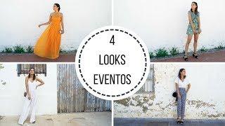 4 IDEAS/LOOKS PARA EVENTOS (Bodas, Bautizos, Comuniones y Graduaciones) || State Beauty