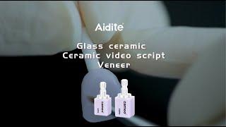 Ceramic video script - Glazed glass Veneer