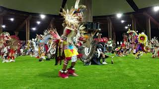 Mens Northern Traditional and Round Bustle Special song 2 of 2 SNL Grand Ronde Powwow 2019