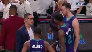 Jeremy Lin Talks to his Old Hornet Teammates!
