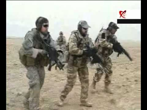 """Romanian special operation forces """"the eagles"""" and U.S """"green berets"""" in Afghanistan"""