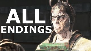Fallout 4 Far Harbor ALL ENDINGS - Children Of Atom, DiMA Acadia, Far Harbor Ending