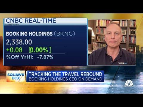 Booking Holdings CEO Glenn Fogel on Q1 earnings, travel demand outlook