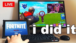 I Spent A Day STREAM SNIPING Fortnite Streamers