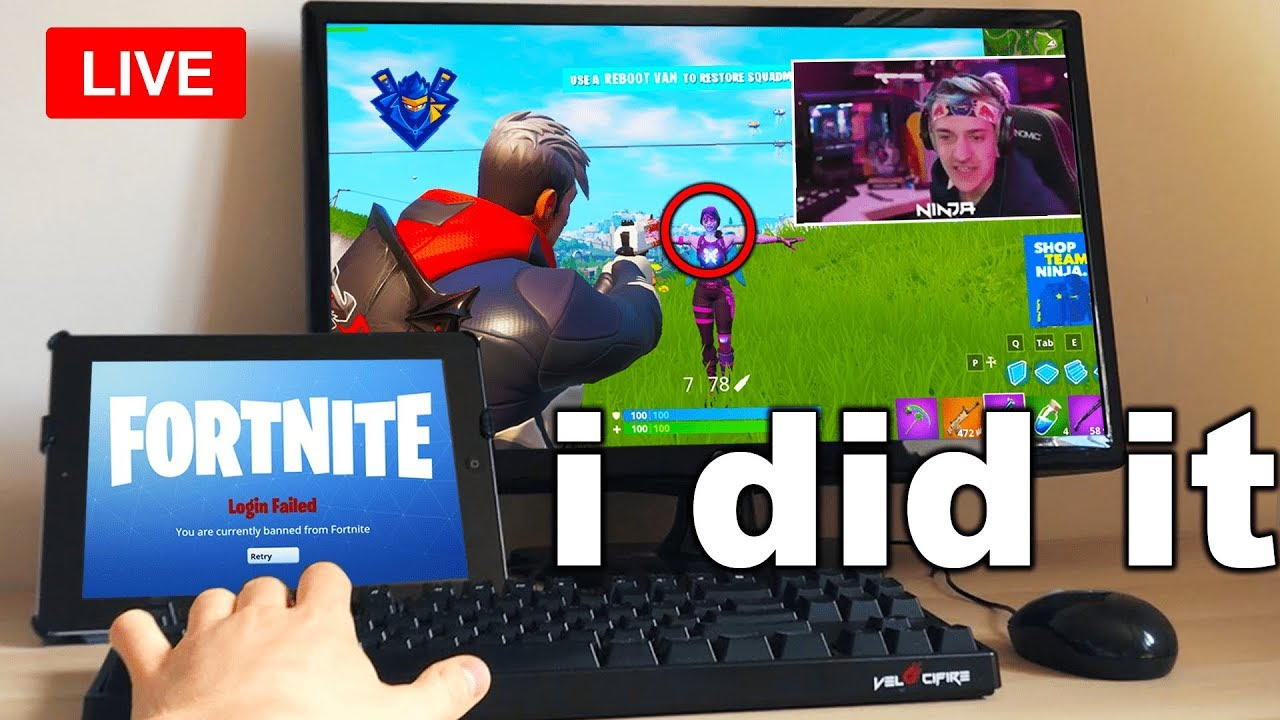 Download I Spent A Day STREAM SNIPING Fortnite Streamers