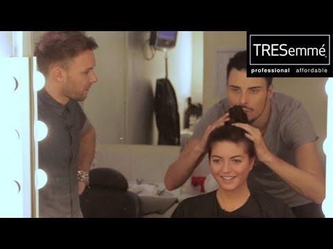 HAIR HOW-TO: Nicole Scherzinger plaited top-knot! - TRESemmé X Factor Salon - The X Factor UK 2012