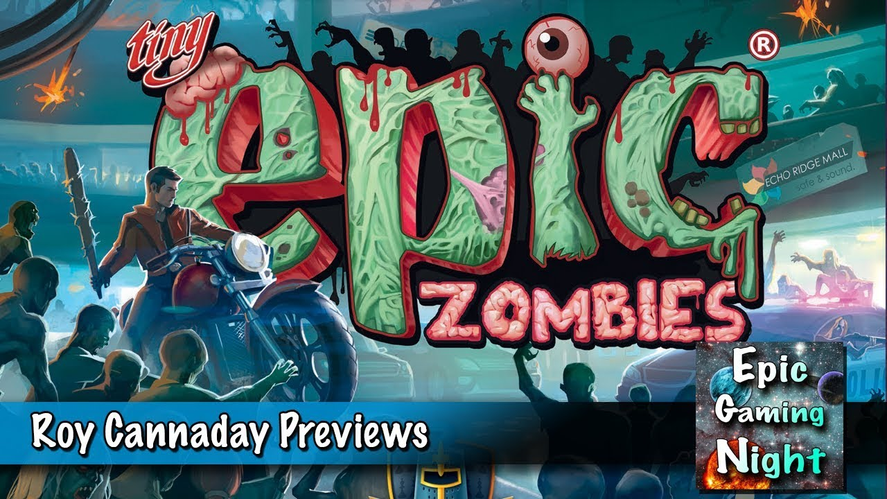 Tiny Epic Zombies - A Game of Brutal Survival by Gamelyn