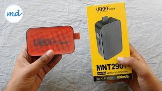 UBON Prime Wireless Bluetooth Speaker Unboxing + Review [ HINDI ]