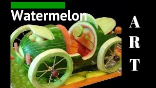 Watermelon art **wow!!**