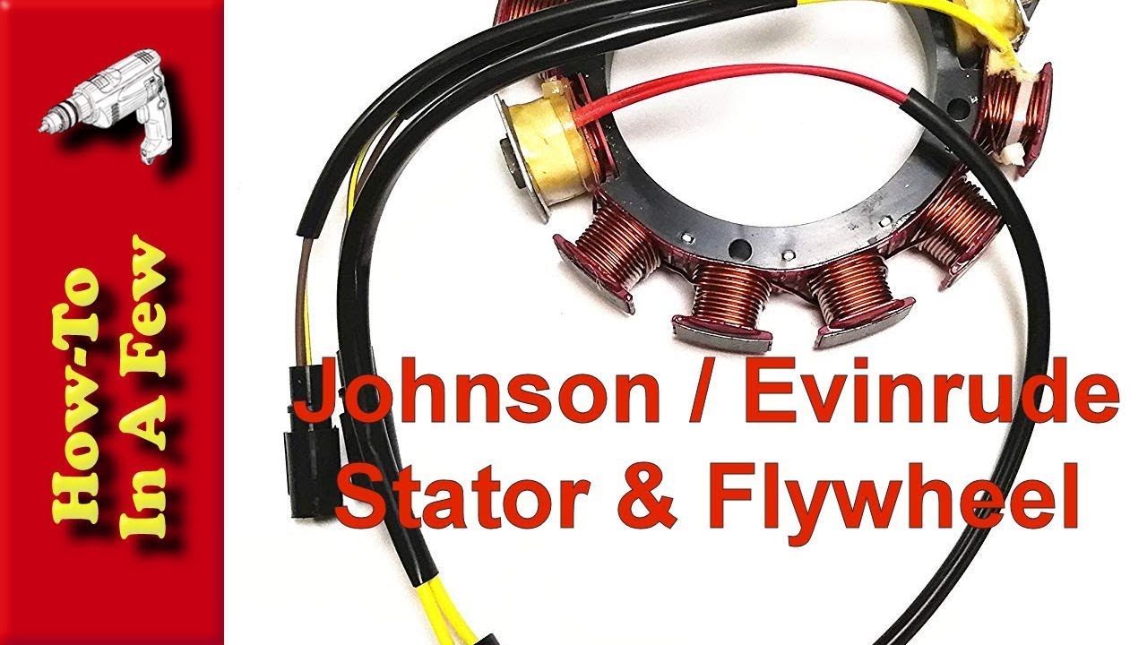 How To: Change the Stator and Flywheel on Evinrude / Johnson