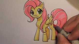 How I Draw Fluttershy/My Little Pony