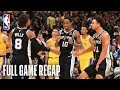 SPURS vs LAKERS | San Antonio & Los Angeles Go Down To The Wire | October 22, 2018