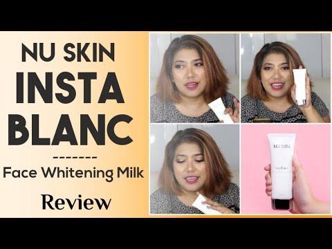 Review Nu Skin InstaBlanc Face Whitening Milk