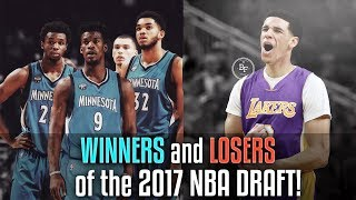 BIGGEST WINNERS and LOSERS In The 2017 NBA DRAFT!