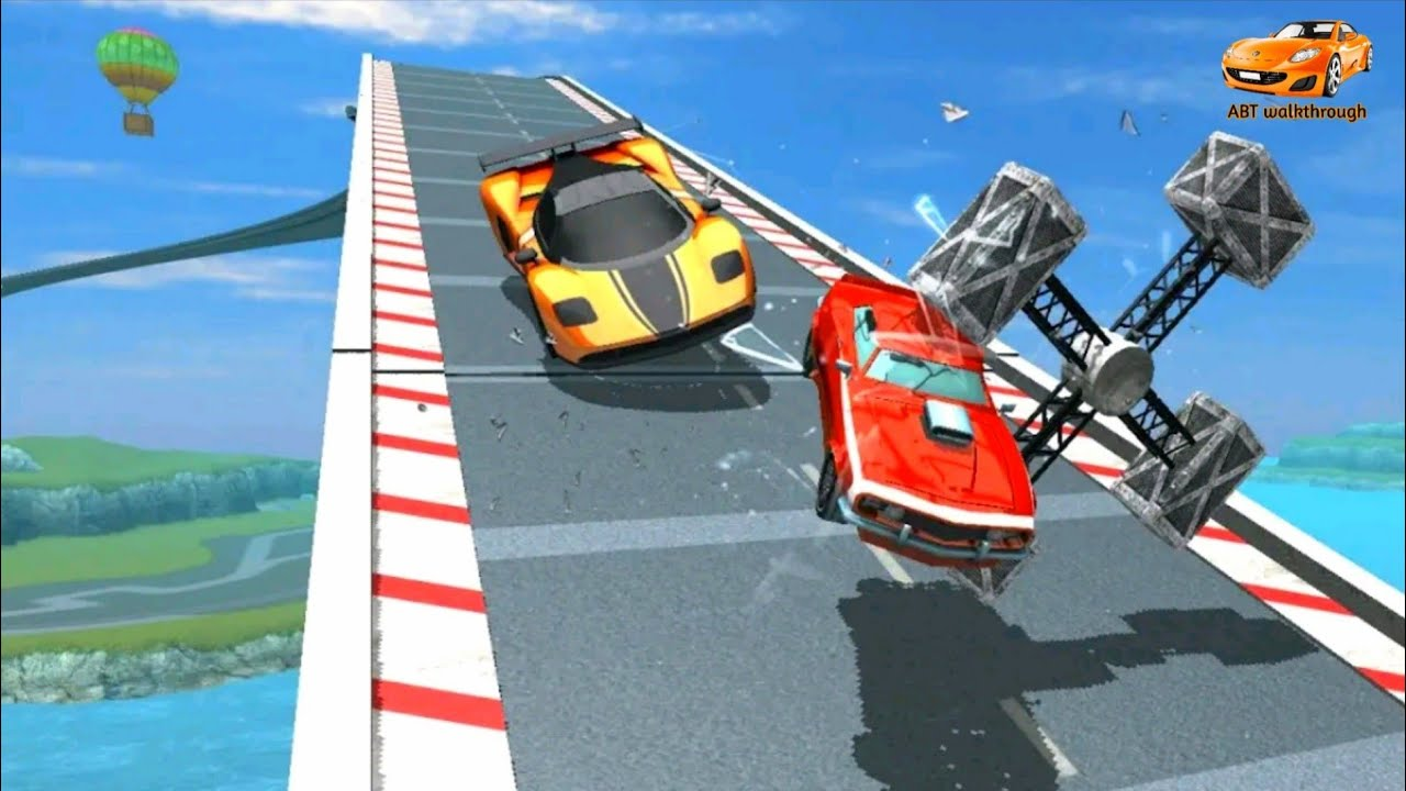 Mega Ramp Car Racing : impossible Track 3D | abt walkthrough