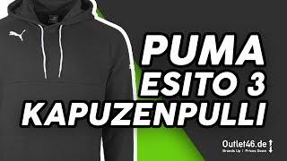 Puma Esito 3 Herren Kapuzenpullover schwarz DEUTSCH l Review l On feet l  Overview l Outlet46 ... f383ba0ab