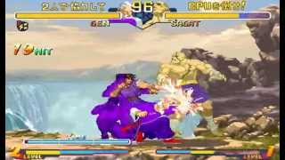 Street Fighter Zero 2 Alpha ~ Dramatic Mode 【TAS】
