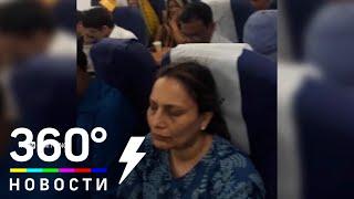 Пассажиров эвакуировали из горящего Airbus A320