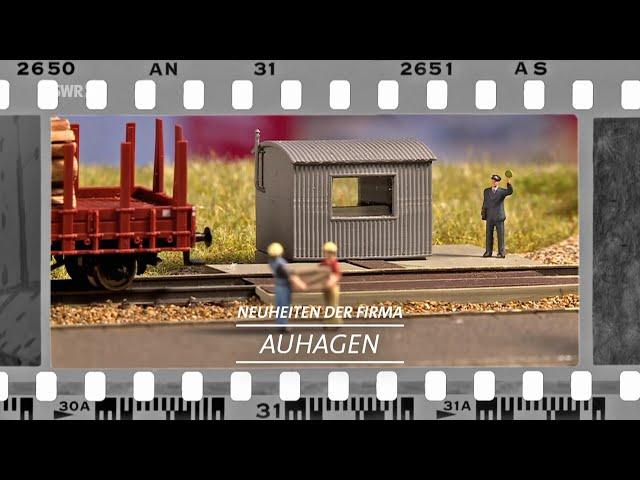 Neuheiten von Zubehörhersteller Auhagen - Nürnberger Spielwarenmesse 21 | Eisenbahn-Romantik
