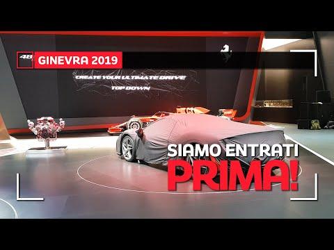Uno sguardo in ANTEPRIMA alle NOVITÁ del Salone di Ginevra 2019