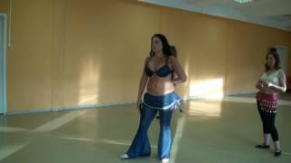 Урок 3. Танец живота, восточные танцы, арабский танец для начинающих. Школа танцев