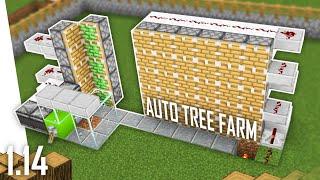 Cara Membuat Auto Tree Farm - Minecraft Indonesia 1.14