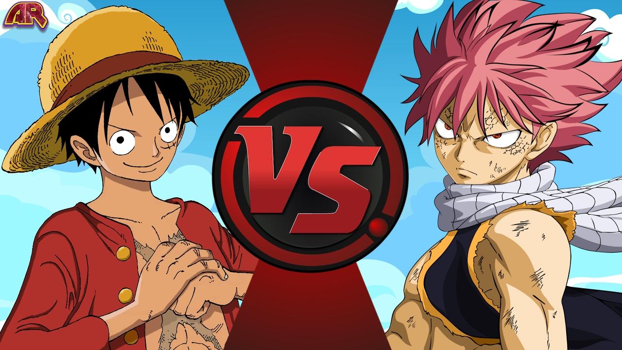 LUFFY vs NATSU! (One Piece vs Fairy Tail) Cartoon Fight Club Episode 157