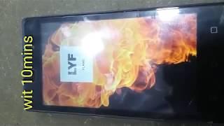 LYF FLAME LS 4505 hard reset