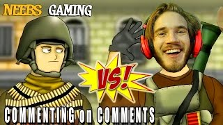BATTLEFIELD FRIENDS - NEEBS GAMING vs PEWDIEPIE / Commenting on Comments thumbnail
