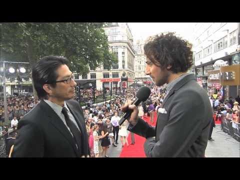 Famke Janssen & Hiroyuki Sanada at The Wolverine
